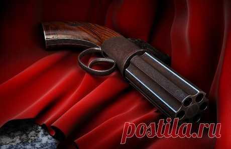 Шестиствольный антикварный пистолет: револьвер пеппербокс | Армия