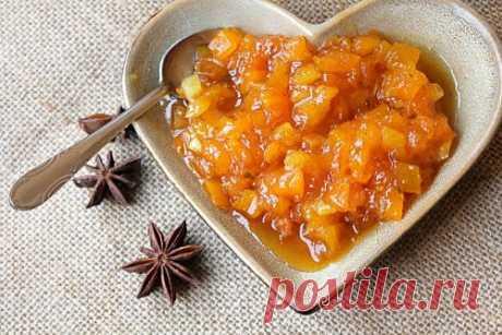 Рецепт варенья из тыквы и кураги — MEGOCOOKER