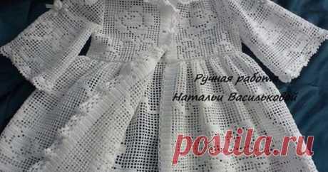 Вязание: одежда ФИЛЕ