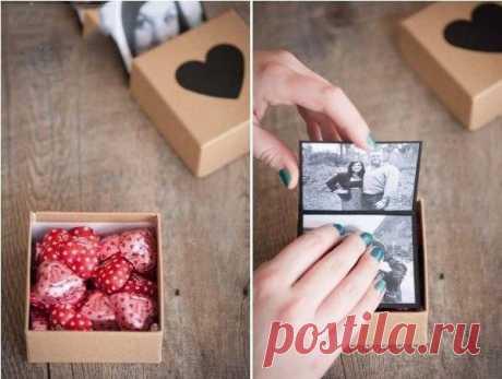 Мини-фотоальбом в подарок