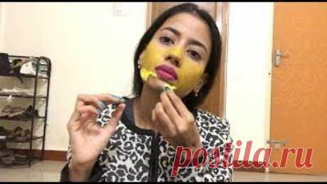 Эта желтая маска удалит все Ваши волосы на лице всего за 20 минут - Счастливые заметки