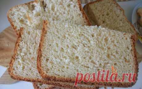 Быстрый хлеб в хлебопечке. Ультрабыстрый хлеб (белый)