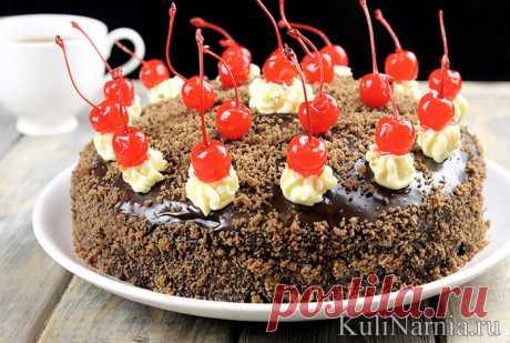 La torta «la guinda Borracha» poshagovyy la receta de la foto