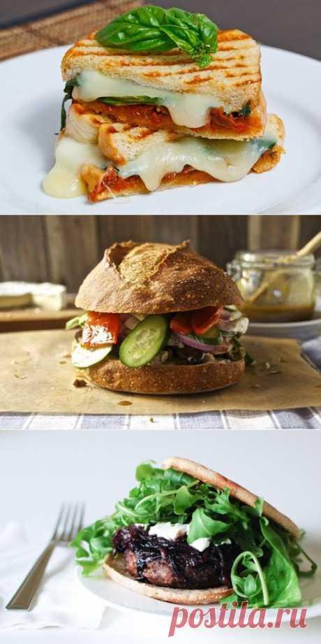 Полезный быстрый перекус: 5 рецептов домашних сэндвичей с мясом / Простые рецепты