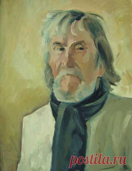 Портрет художника В. Макова