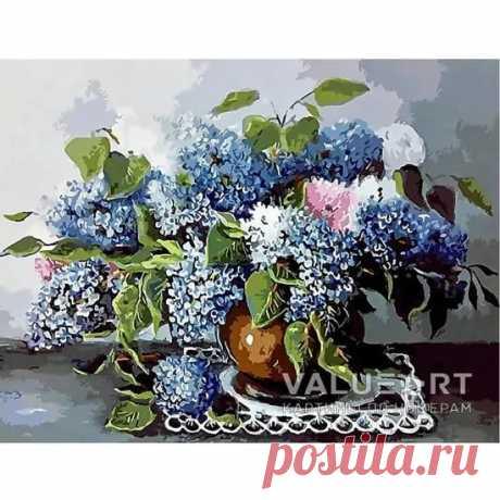 Картина по номерам - Аромат весны, Купить набор для рисования на холсте в Москве от интернет-магазина valueart.ru