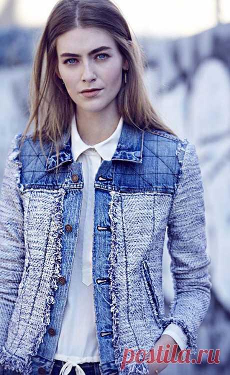 50 Diverse Ideas of Denim Jackets Decor | Журнал Ярмарки Мастеров