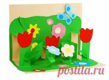 Открытки с цветами своими руками. Открытки с цветами, сделанные своими руками, самые замечательные. В преддверии праздников многие...