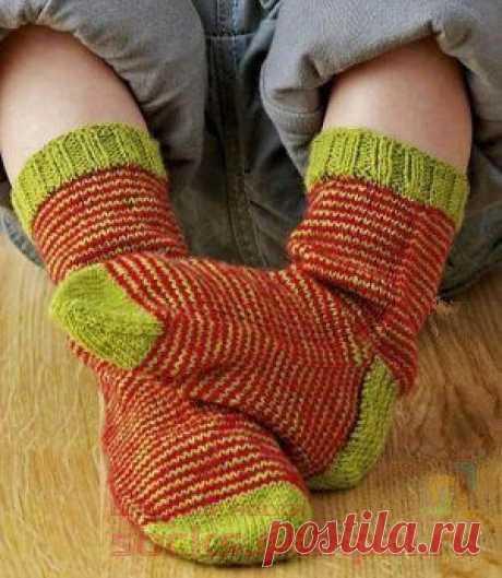 """Children's socks \""""Little Elf\"""""""