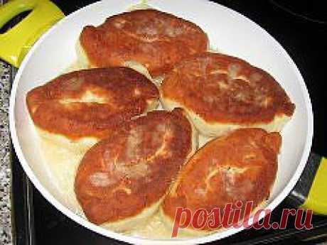 Творожные пирожки с зеленым луком