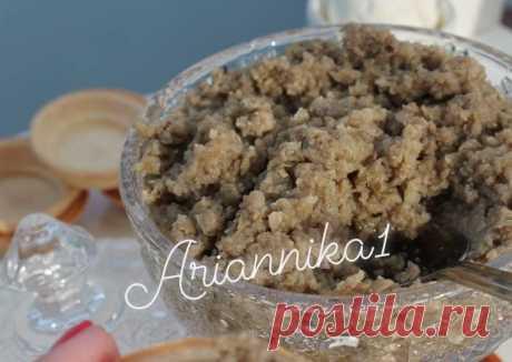Грибная икра - пошаговый рецепт с фото. Автор рецепта Инна🏃♂️ . - Cookpad