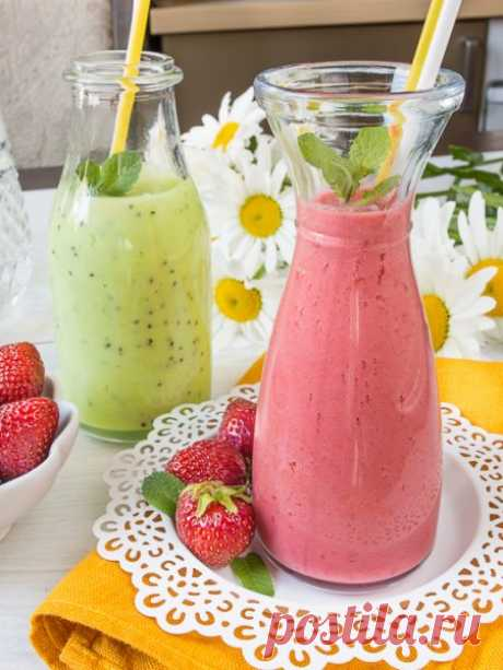 Рецепт фруктово-ягодного ласси на Вкусном Блоге