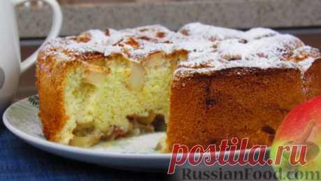 Пироги с яблоками - 30 лучших рецептов приготовления