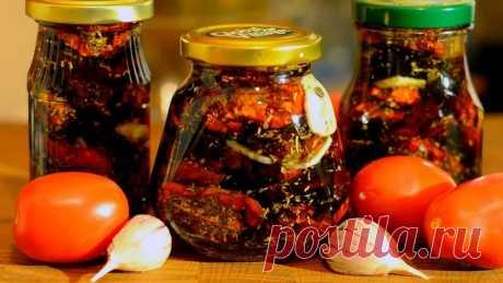 4 необычных рецепта зимних заготовок из помидоров - Банкетоф
