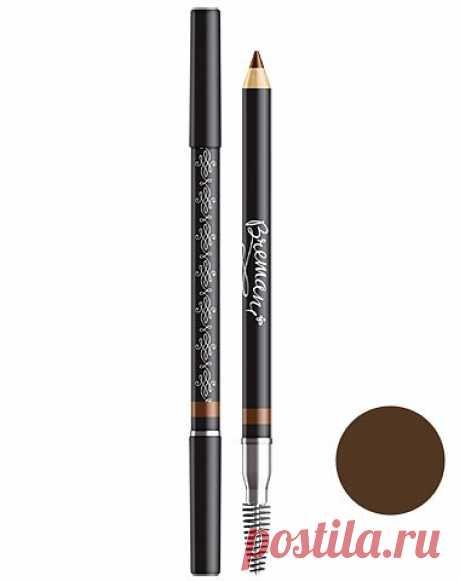 Фото – Пудровый карандаш для бровей, оттенок: Горький шоколад: купить в интернет-магазине NSP в России