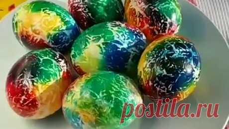Радужные яйца группа Креатив своими руками