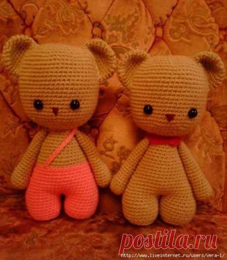 Медвежонок по описанию Sadza-Кристина