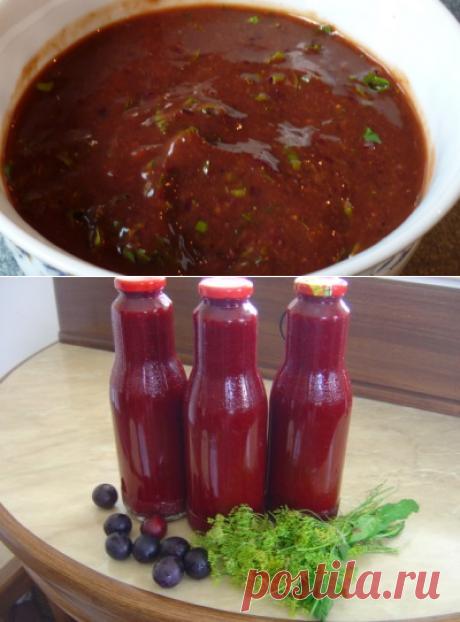 Las recetas de la salsa georgiana tkemali.