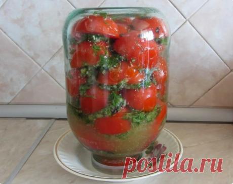 Маринованные половинки томатов в масле на зиму. От такой вкуснятины никто не отказывается! - Вкусные рецепты - медиаплатформа МирТесен