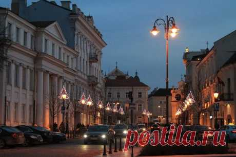 Ночь в Вильнюсе | Aviaskyner.Ru | Яндекс Дзен