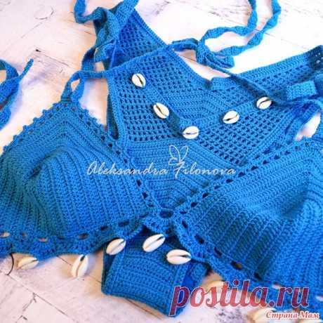 Купальник, плавки бразилиана - Вязание - Страна Мам