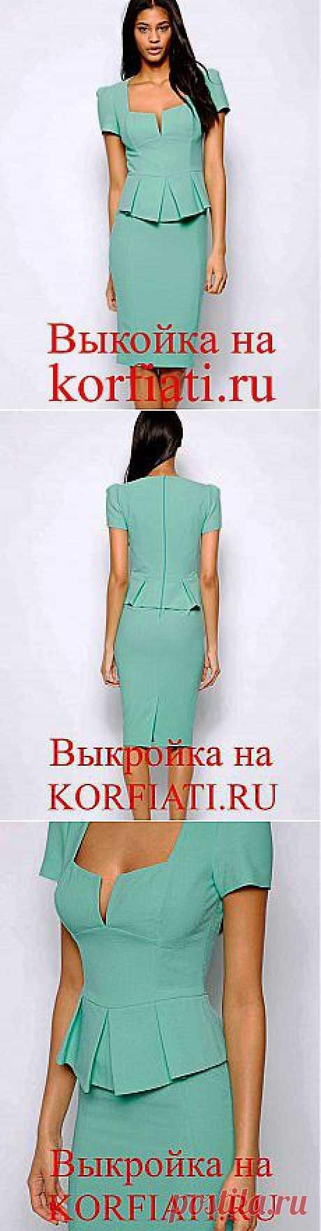 Выкройки платьев своими руками - от ШКОЛЫ ШИТЬЯ Анастасии Корфиати