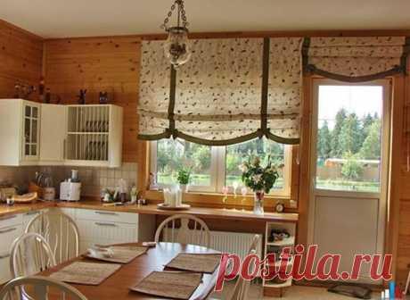 Необычные идеи для оформления окна на кухне: 5 интересных решений со шторами
