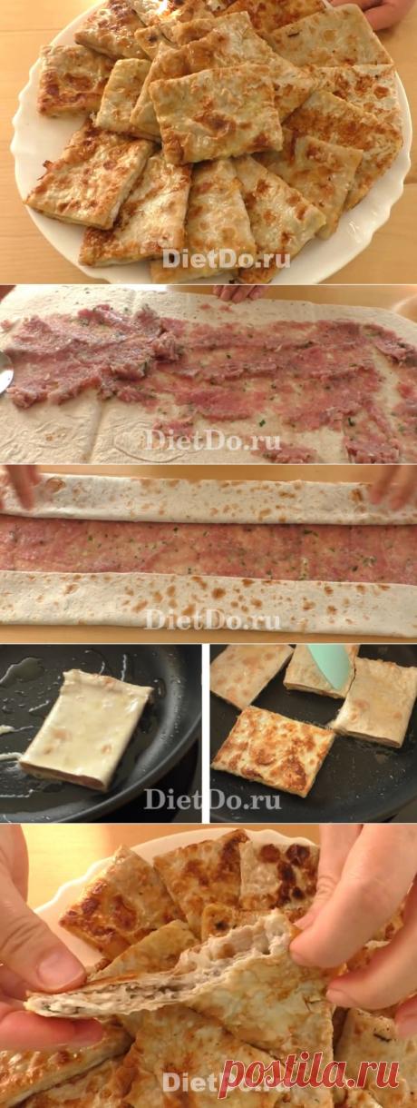 ПП-чебуреки: 6 рецептов из лаваша и творожного теста в духовке и на сковороде