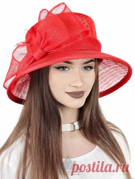 Шляпа Рейли - Женские шапки - Из соломки купить по цене 3126 р. с доставкой в Интернет магазине Пильников
