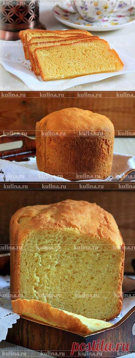 Кукурузный хлеб в хлебопечке – рецепт приготовления с фото от Kulina.Ru