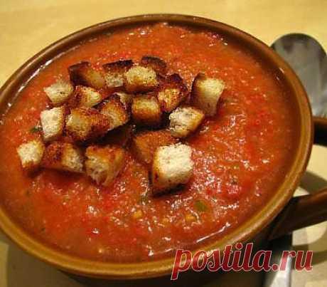 Холодный суп гаспачо рецепт с фото - рецепты с фото