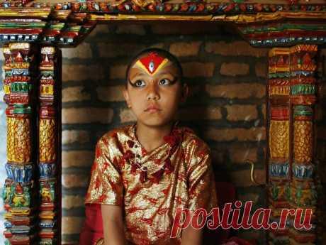 Девочки из Непала – последние живые божества на планете - Путешествуем вместе