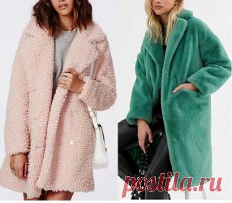 Casaco de pelúcia gola esporte Esquema de modelagem de casaco de pelúcia gola esporte do tamanho 36 ao 56.