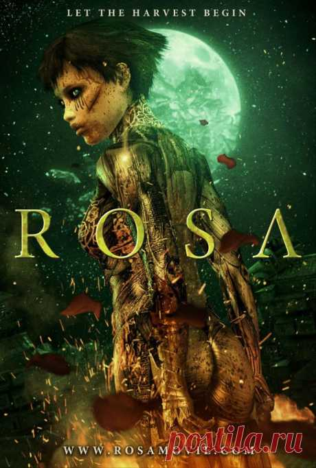 Rosa: когда твоя кровь превращается в цветы, когда твоя смерть - это последняя попытка возродить планету...  Шикарный постапокалиптический визуал в анимации Rosa