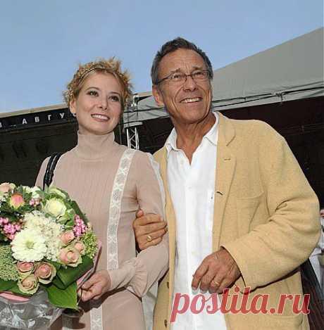 Андрон Кончаловский и Юлия Высоцкая