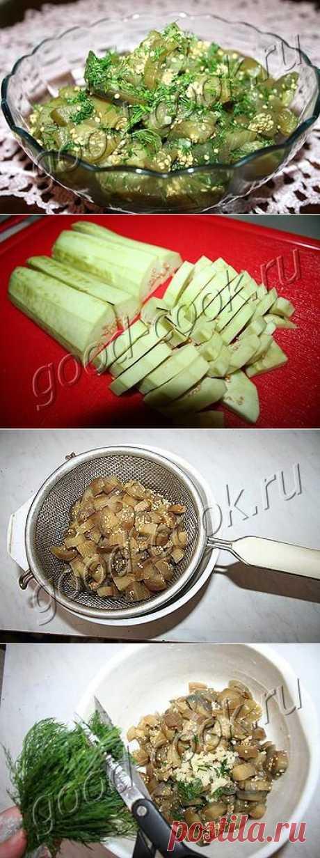 Хорошая кухня - баклажаны под грибы. Кулинарная книга рецептов. Салаты, выпечка.