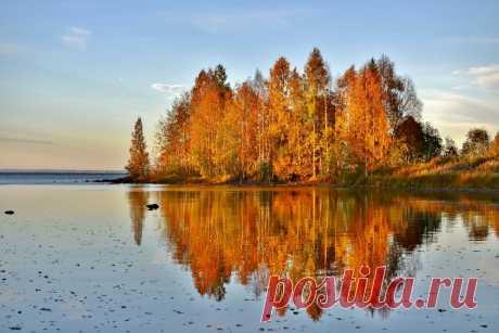 Осень в Заонежье.