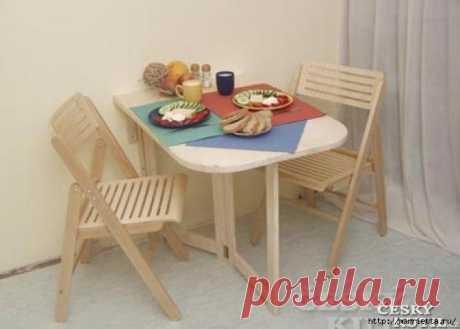 Складной столик своими руками