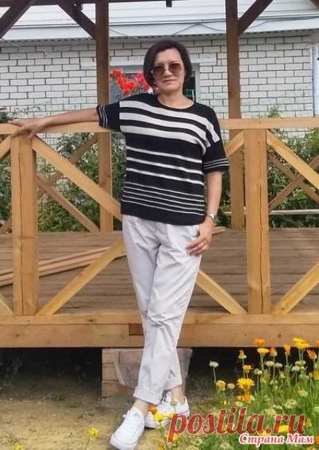 Буретная футболка - Вязание - Страна Мам