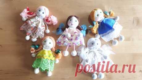 Что можно сделать из ненужной футболки?Маленькие куклы Веснушки для внучки | Ёлки зелёные! | Яндекс Дзен