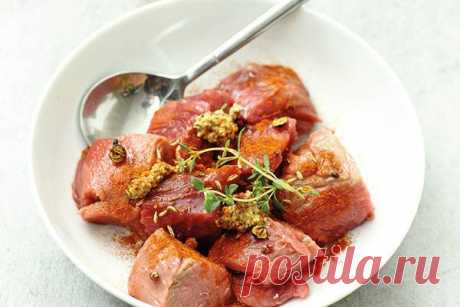 Mаринад для красного мяса | Hotpoint