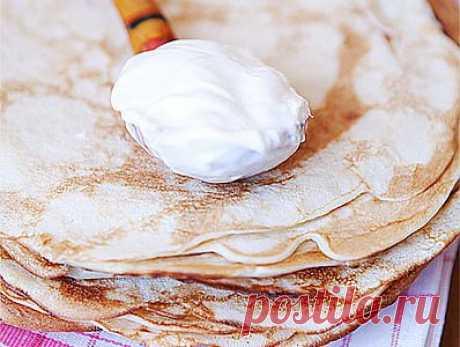 Блины к Масленице (семейный рецепт) - рецепт приготовления с фото / COOK-MASTER.RU