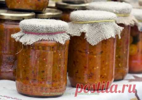 SPICY MARROW CAVIAR FOR THE WINTER
