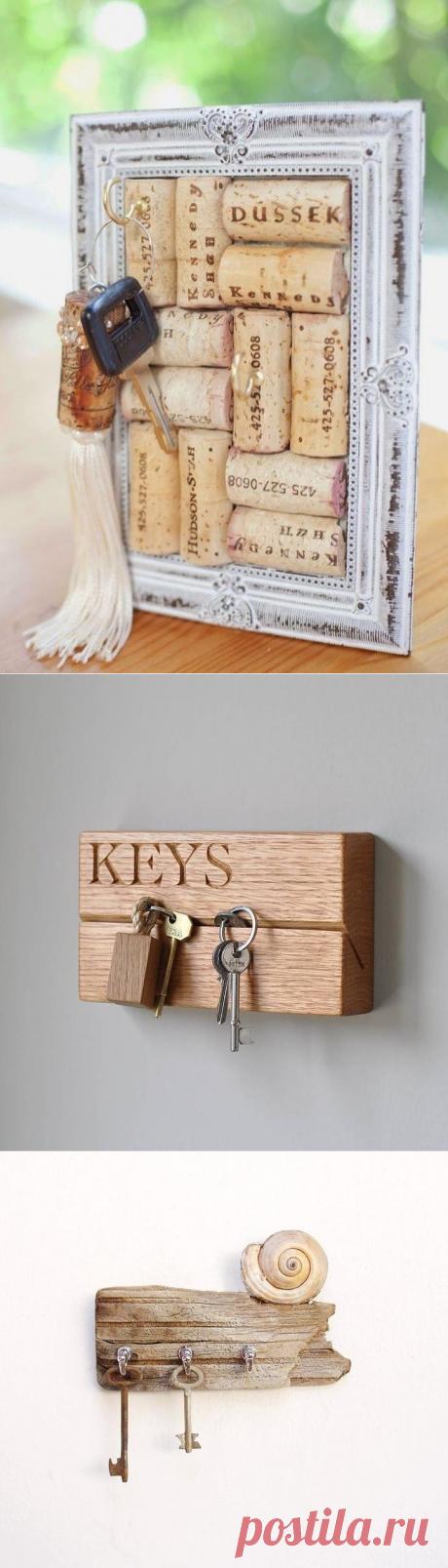 Стильные ключницы для вашей прихожей