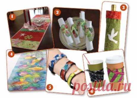 Бесплатная электронная книга: 6 бесплатные домашние идеи подарков для искусства мастериц