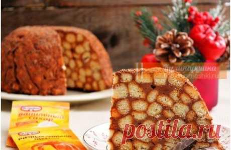 Торт «Муравейник» приготовленный по рецепту 1984 года Хотите вернуться в 1984 год? Приготовьте этот торт и насладитесь вкусом советского Нового года!