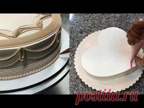Торты в стиле Ламбет | Красивые торты, Техники украшения торта, Украшение ...