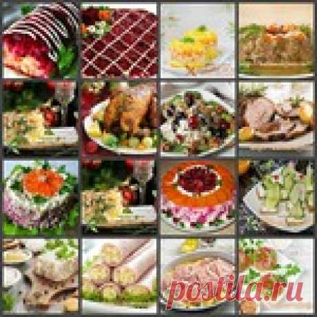 SALADS AND SNACK FOR NEW YEAR 2017 — THE MOST TASTY AND BEAUTIFUL RECIPES