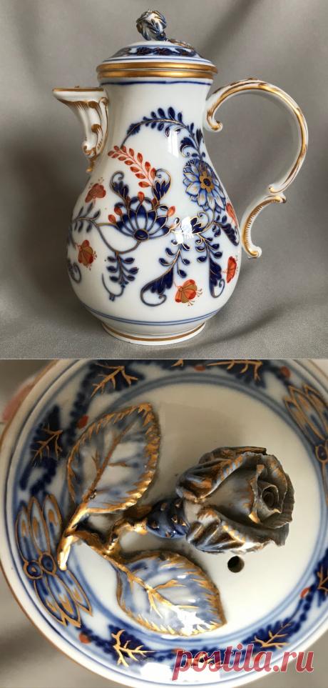 Расшифровка символов старинного кофейника XIX века