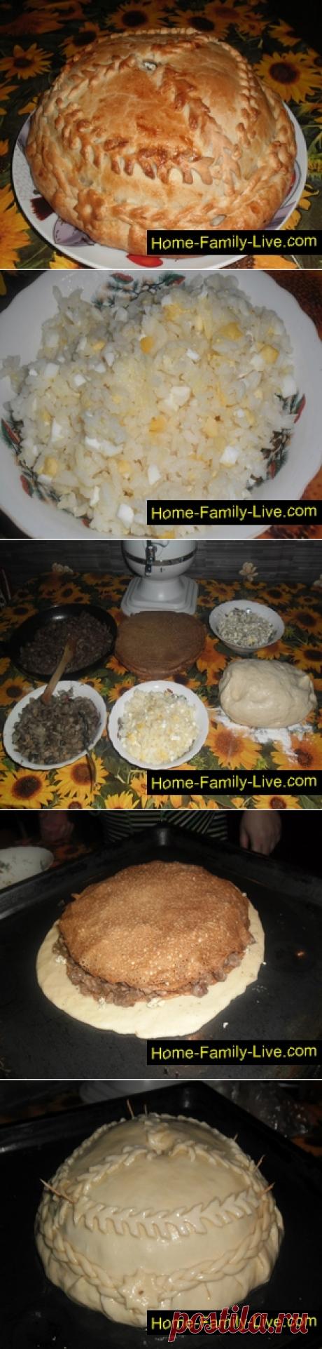 Курник/Сайт с пошаговыми рецептами с фото для тех кто любит готовить